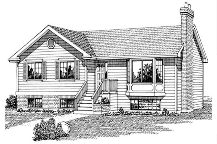 Main image for house plan # 7154