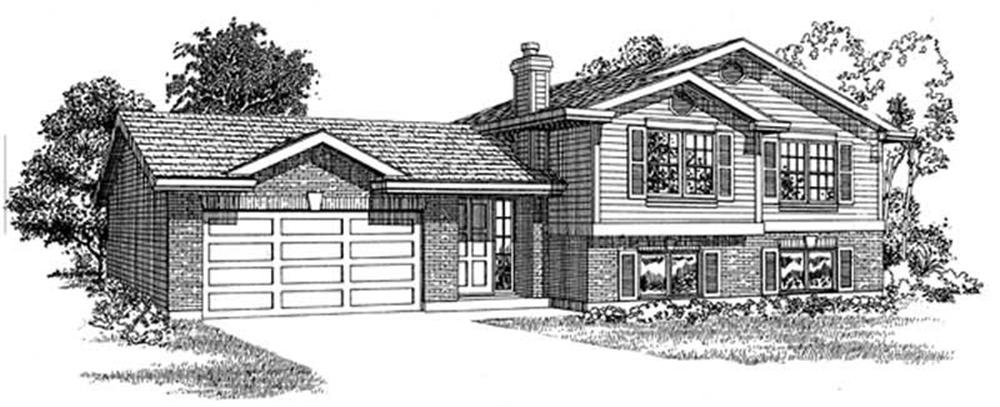Main image for house plan # 7159