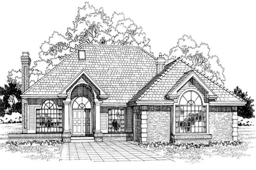 Main image for house plan # 7186