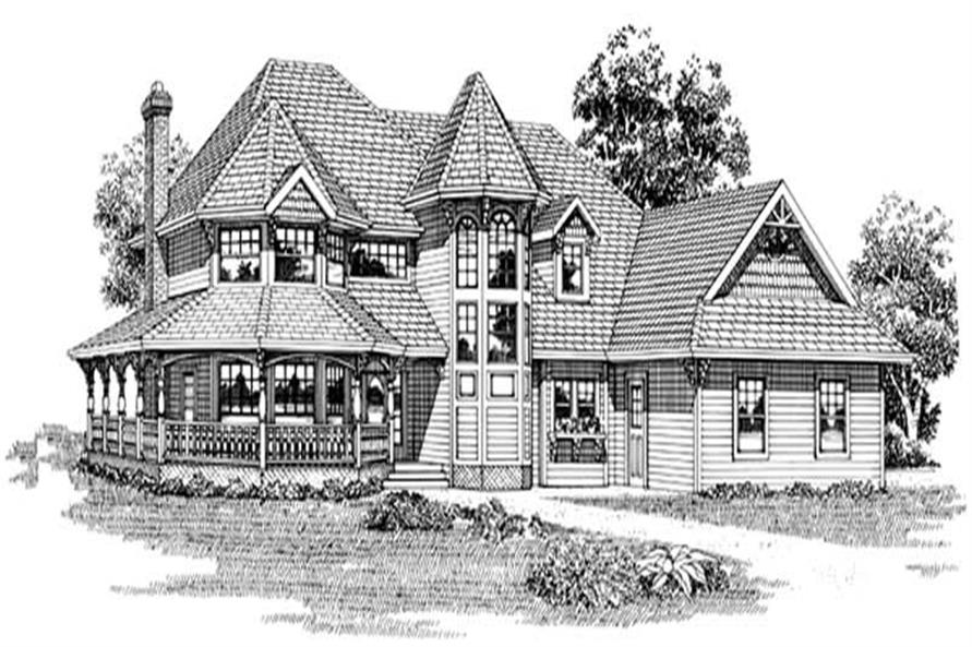 Main image for house plan # 7201