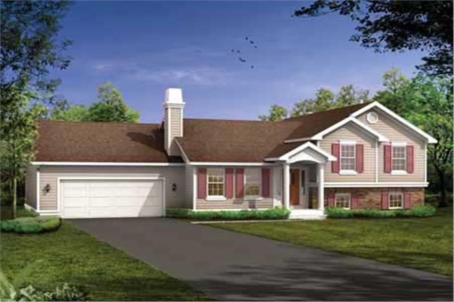 Main image for house plan # 7259