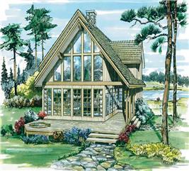 House Plan #167-1187