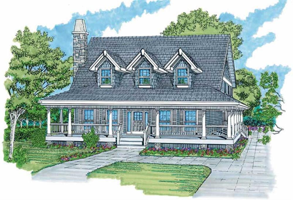 Main image for house plan # 7264