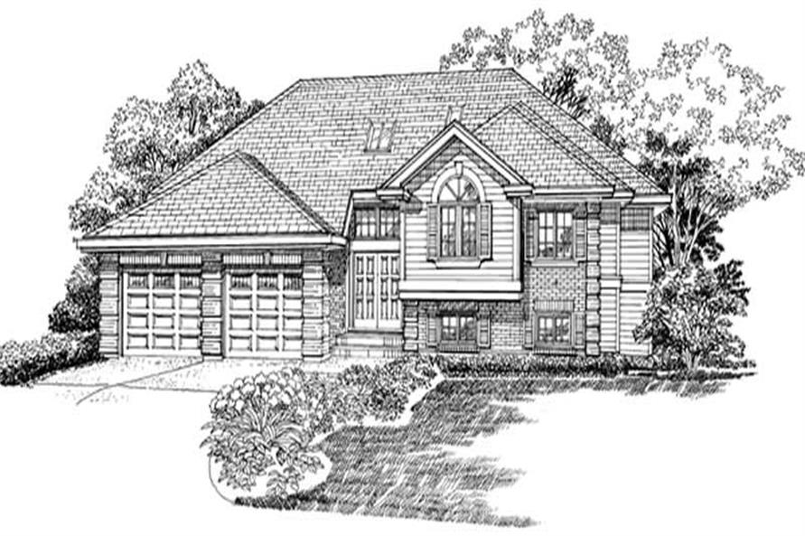 Main image for house plan # 7267