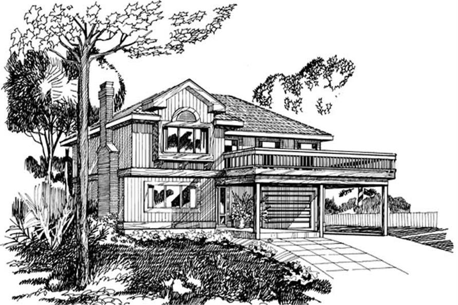 Main image for house plan # 7274