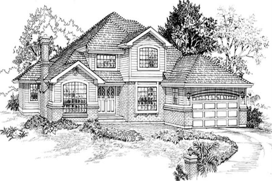 Main image for house plan # 7204