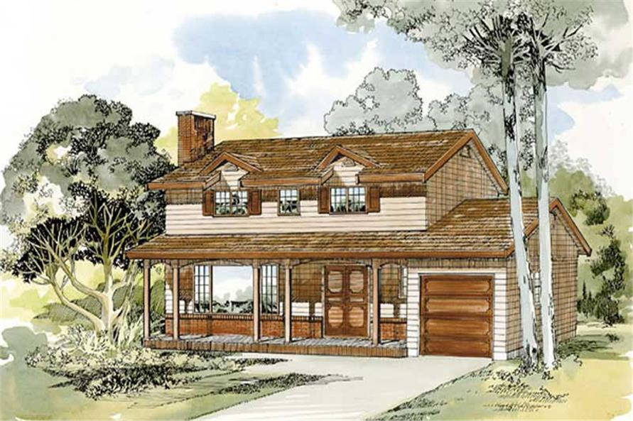 Main image for house plan # 7314