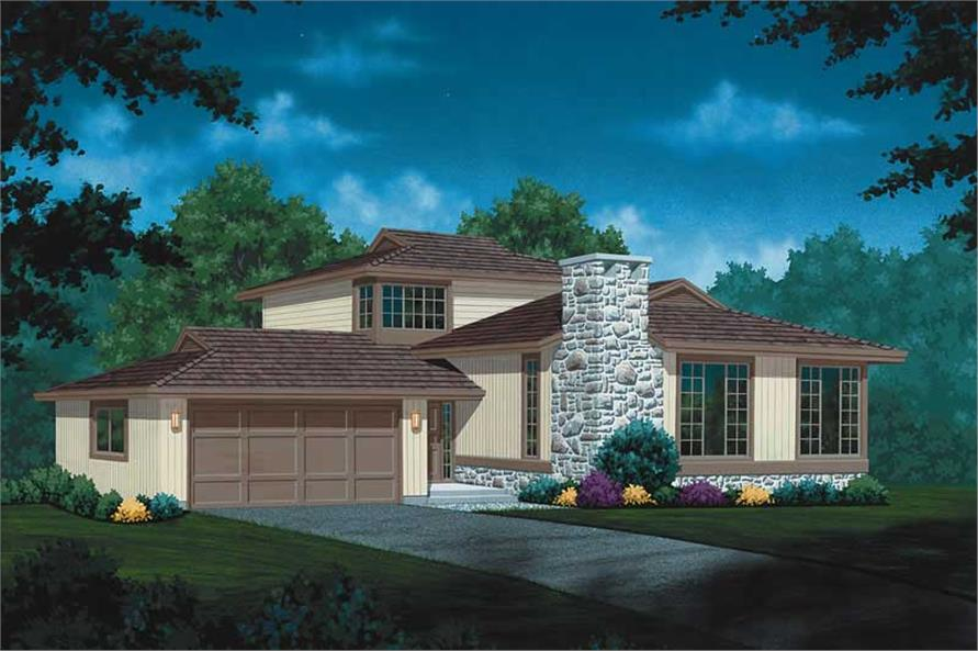 Main image for house plan # 7317