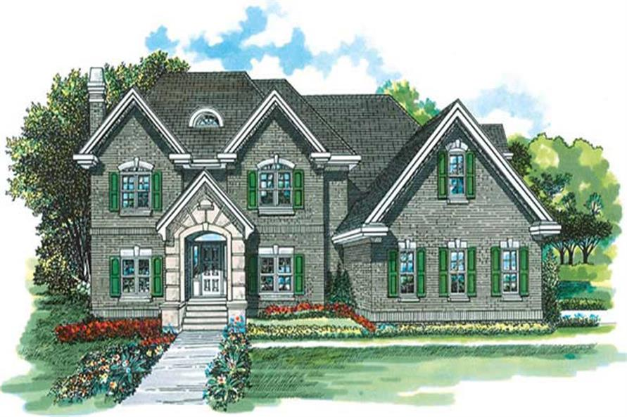 Main image for house plan # 7306