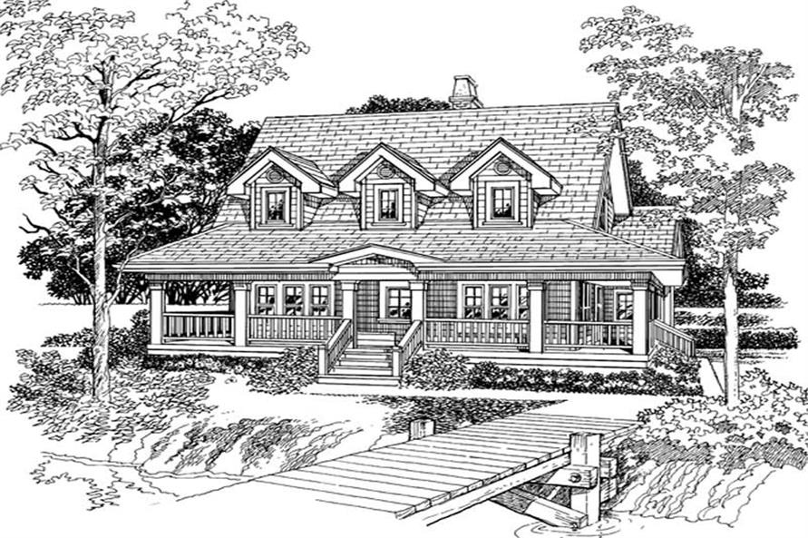 Main image for house plan # 7302