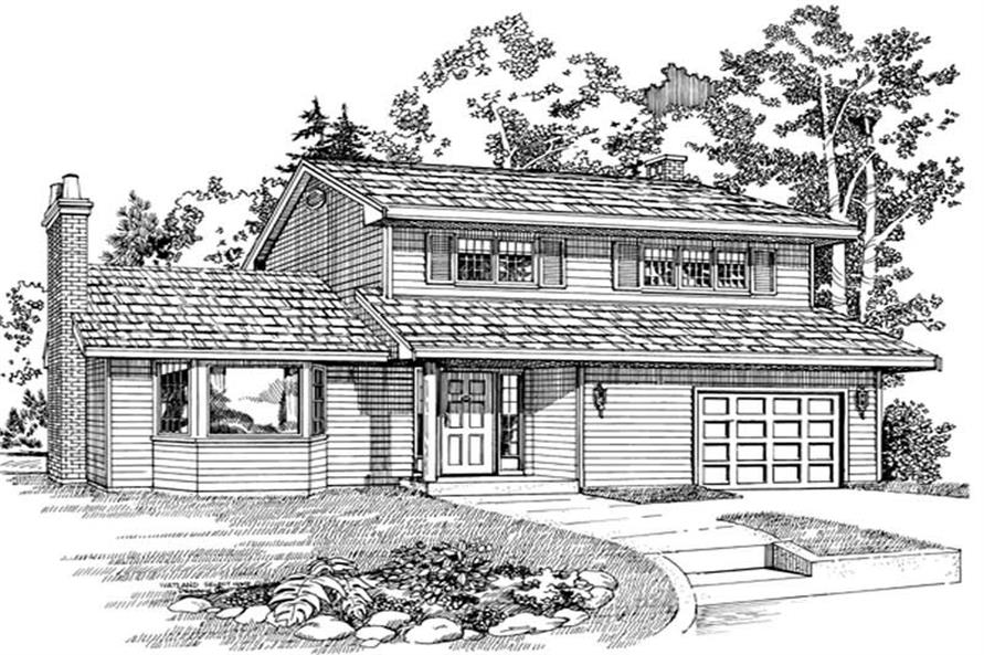 Main image for house plan # 7328