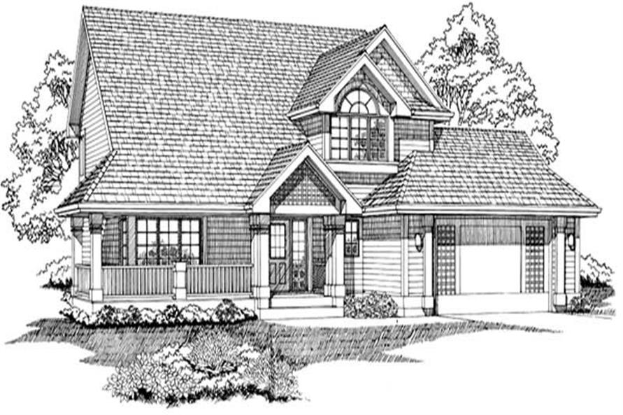 Main image for house plan # 7363