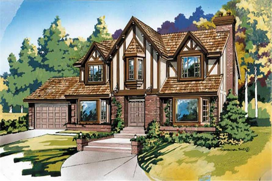 Main image for house plan # 7322