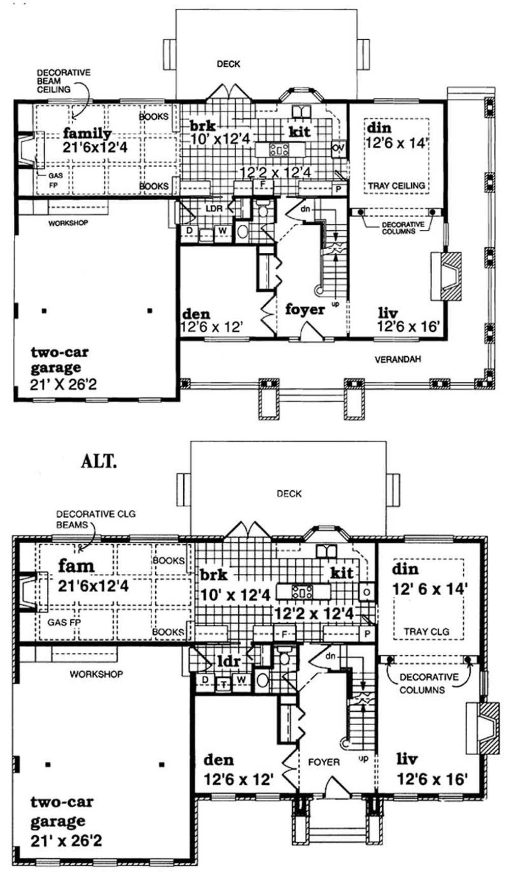 Large Images For House Plan 167 1223
