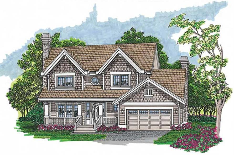 Main image for house plan # 7309