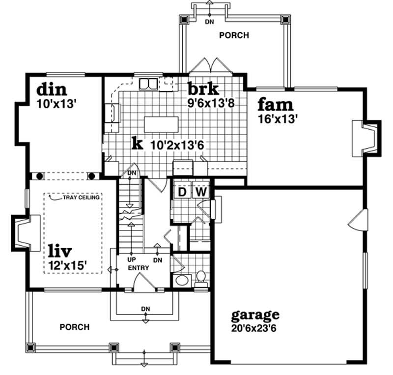 Traditional arts and crafts house plans home design for Arts and craft house plans