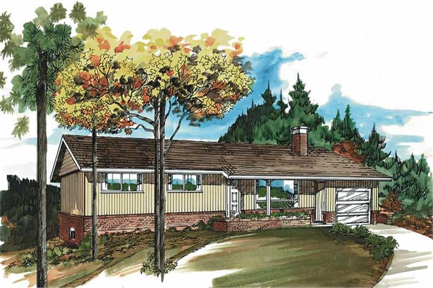 Main image for house plan # 7281