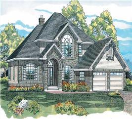 House Plan #167-1243