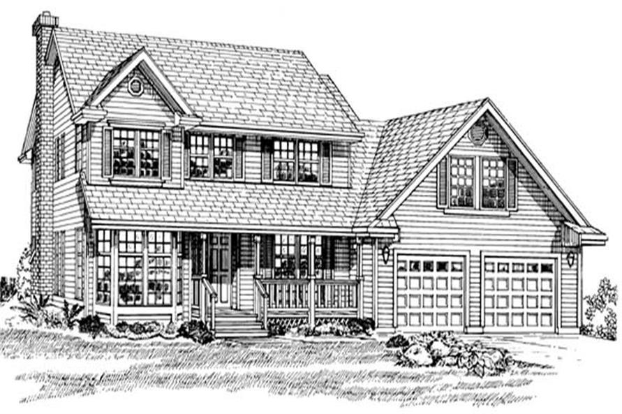Main image for house plan # 7192