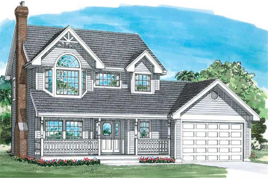 Main image for house plan # 7175