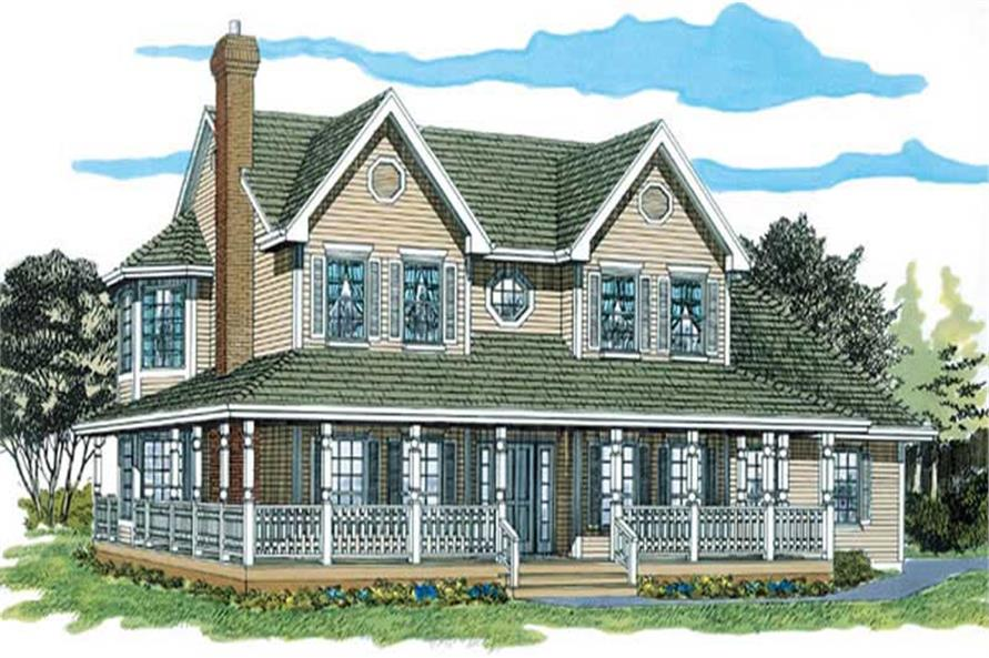 Main image for house plan # 7199