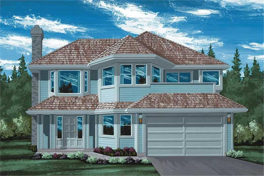 Main image for house plan # 7083