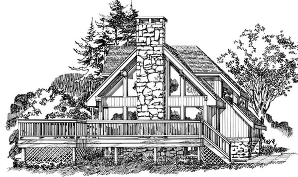 Main image for house plan # 7084
