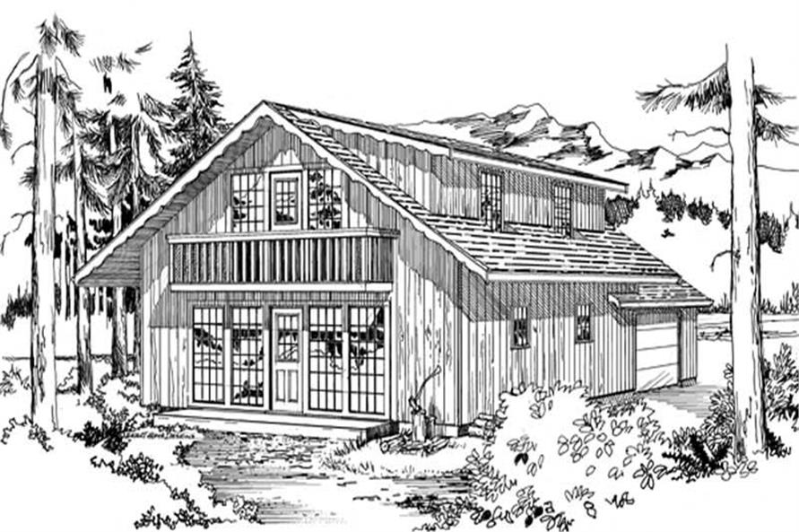 Main image for house plan # 7006