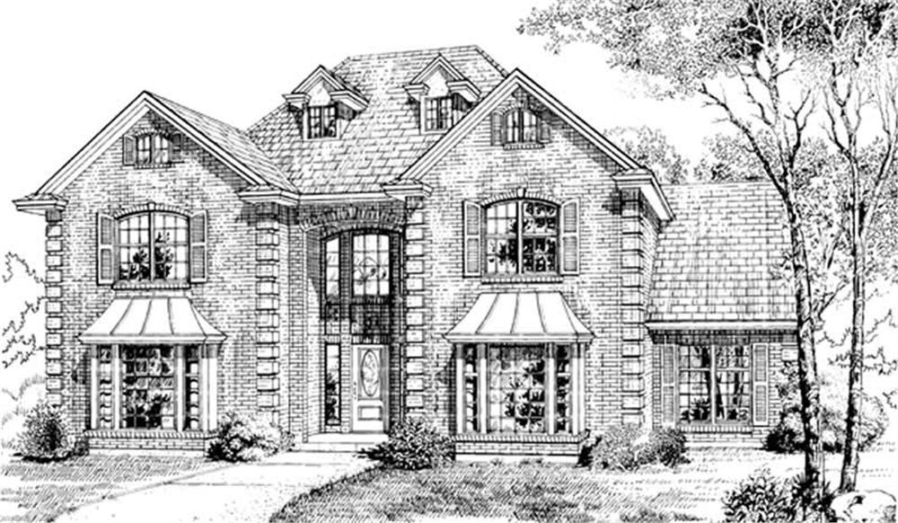 Main image for house plan # 7135