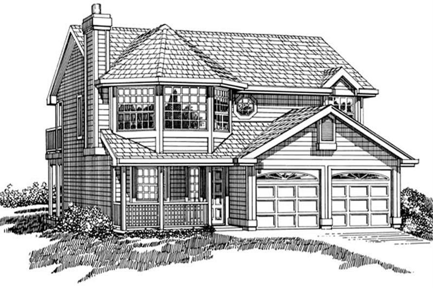 Main image for house plan # 7145