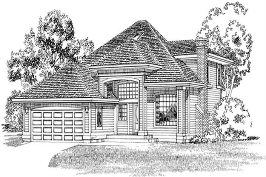 Main image for house plan # 7178