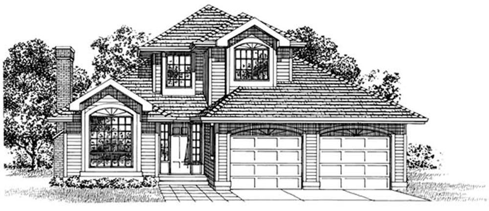 Main image for house plan # 7169