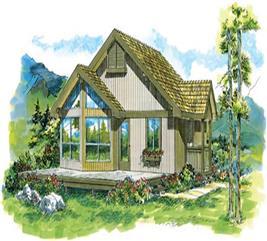 House Plan #167-1277