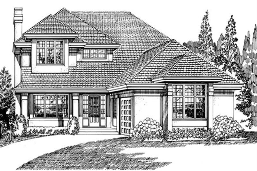 Main image for house plan # 7088