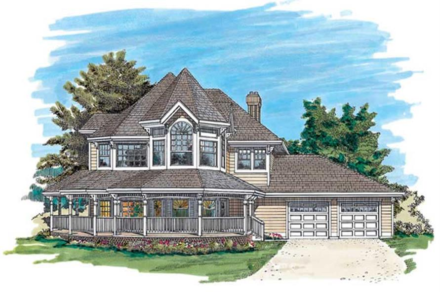 Main image for house plan # 7205