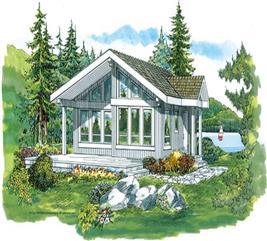House Plan #167-1286