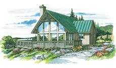 Main image for house plan # 7223