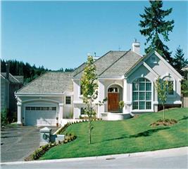 House Plan #167-1291