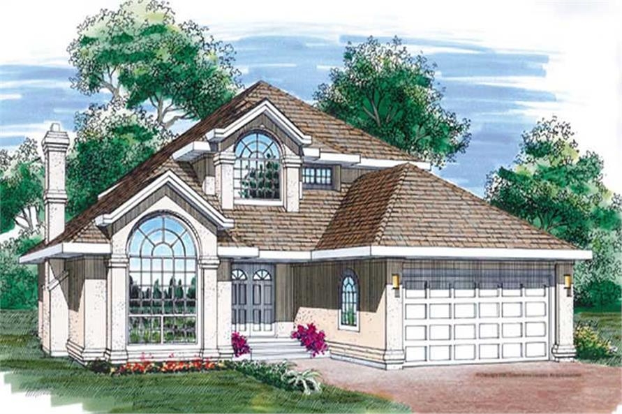Main image for house plan # 7195