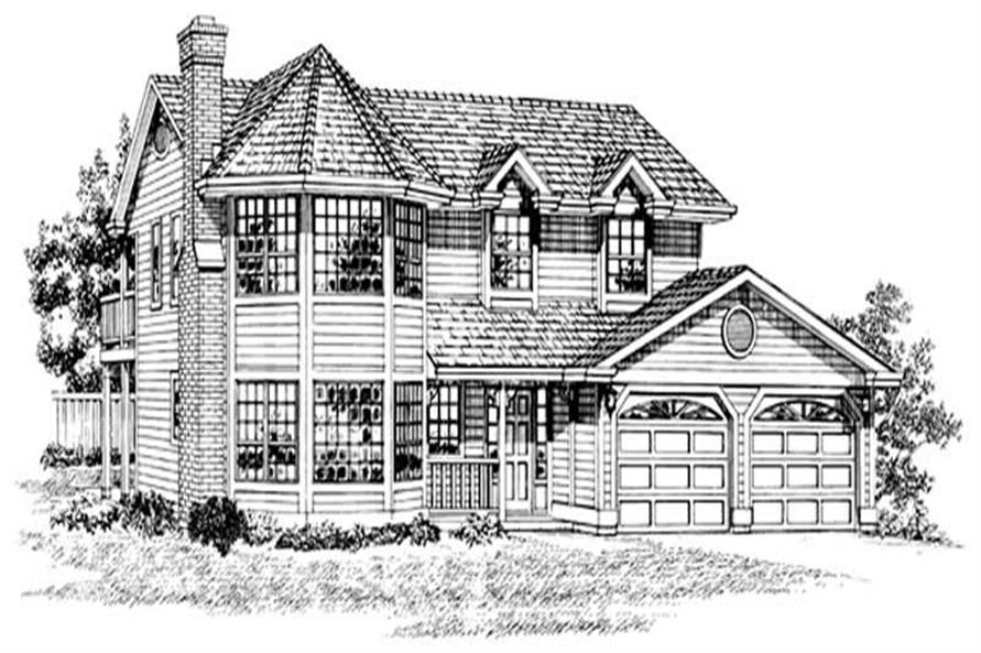 Main image for house plan # 7152