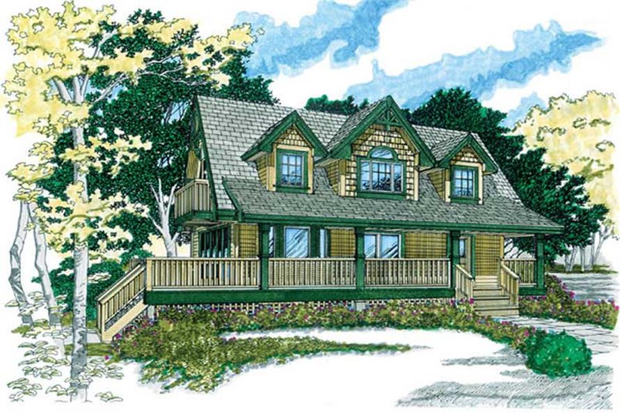 Main image for house plan # 7299