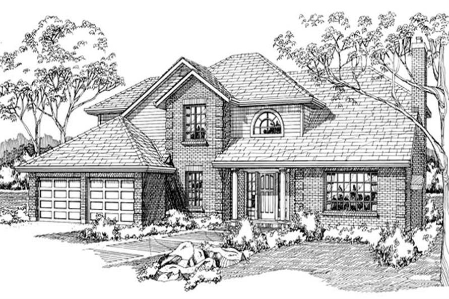 Main image for house plan # 6902