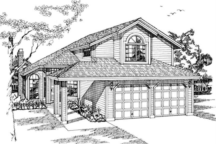 Main image for house plan # 6898