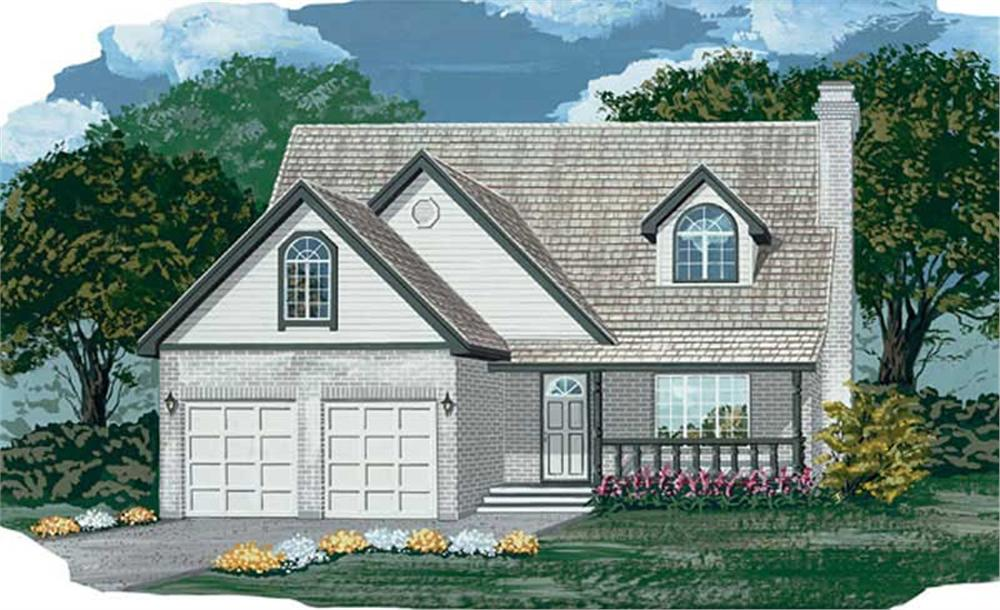 Main image for house plan # 6896