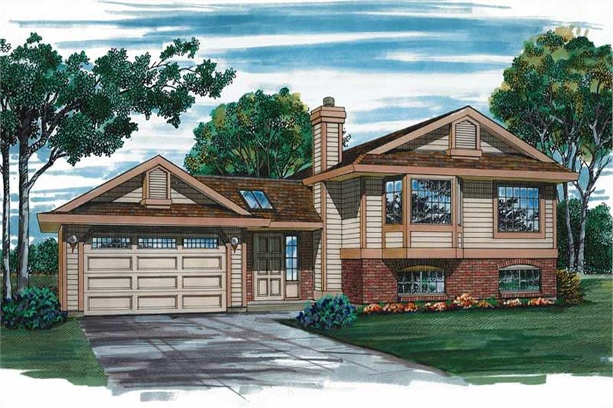 Main image for house plan # 7147