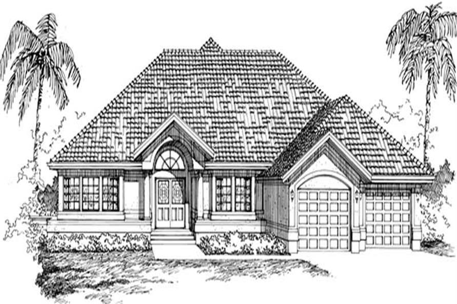 Main image for house plan # 7371