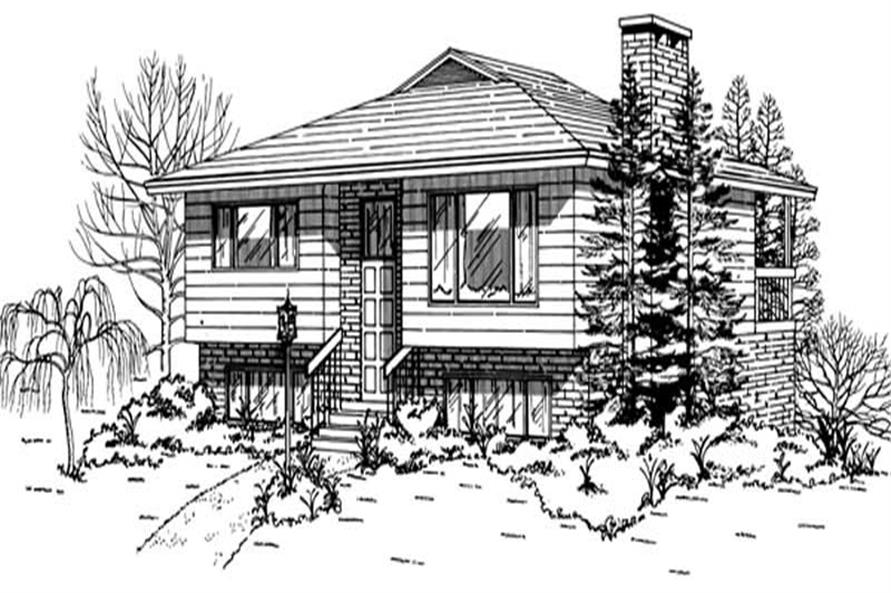 Main image for house plan # 7433