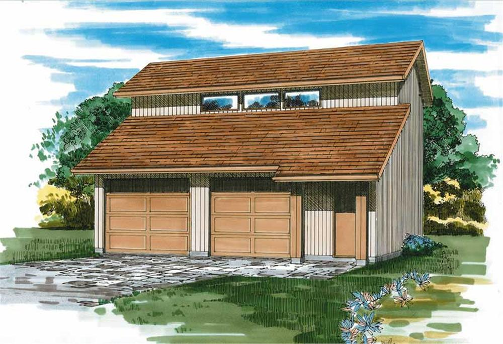 Main image for house plan # 7393