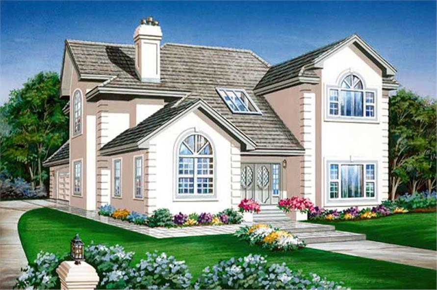 Main image for house plan # 7353