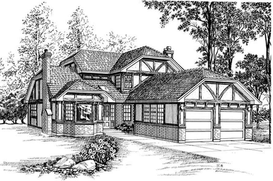 Main image for house plan # 7335